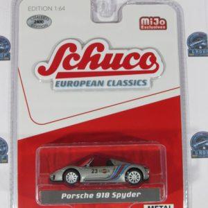 PORSCHE 918 SPYDER MIJO EUROPEAN CLASSICS SCHUCO1:64