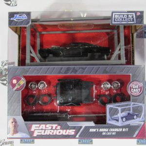 FAST & FURIOUS BUILD N COLLECT DOM'S DODGE CHARGER R/T JADA 1:64