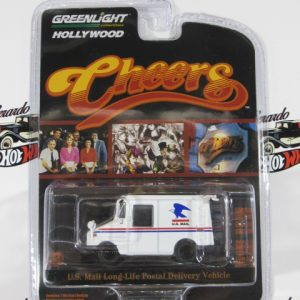 U.S MAIL LONG - LIFE POSTAL DELIVERY VEHICLE CHEERS GREENLIGTH 1:64