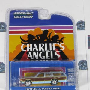 1979 FORD LID COUNTRY SQUIRE CHARLIES ANGELELS GREENLIGHT 1:64