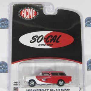 1955 CHEVROLET BEL AIR NOMAD LIMITED EDITION SO- CAL SPEE DSHOP ACME 1:64