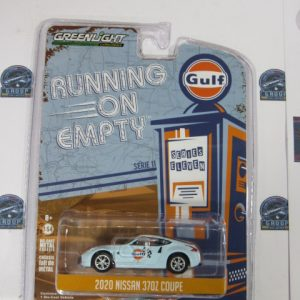 2020 NISSAN 370Z COUPE GULF SERIE 11 GREENLIGHT 1:64