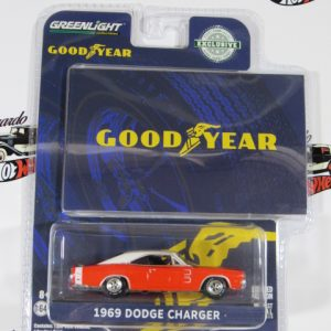 1969 DODGE CHARGER GOOD YEAR GREENLIGHT 1:64
