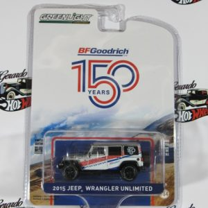 2015 JEEP WRANGLER UNLIMITED 150 YEARS BF GOODRICH GREENLIGTH 1:64