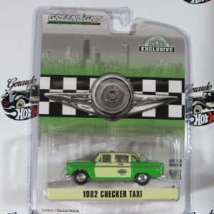 1982 CHEKER TAXI EXCLUSIVE GREENLIGTH 1:64