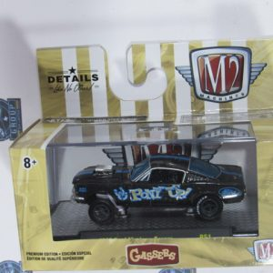 1966 FOR MUSTANG PONY UP R51 HOBBY GASSERS MACHINES M2 1:64