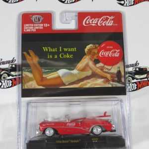 1954 BUICK SKYTARK BB 02 LIMITED EDITION 13+ COCACOLA M2 1:64