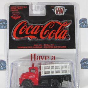 COCA´COLA PREMIUM DIE CAST COLLECTIBLE. COLLECTION HAUT DE CAMME M2 1:64