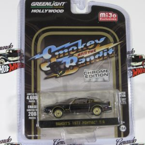 BANDIT'S 1977 PONTIAC T/A CROME EDITION MIJO EXCLUSIVES GREELIGHT 1:64