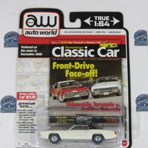 1967 Cadillac Eldorado Hemmings CLASSI CAR AUTO WORLD AW 1:64