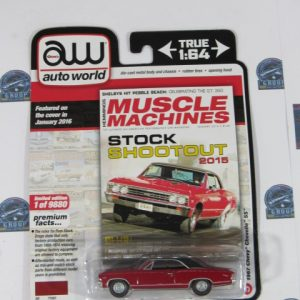 1967 CHEVY CHEVELLE SS MUSCLE MACHINES AUTO WORLD AW 1: 64
