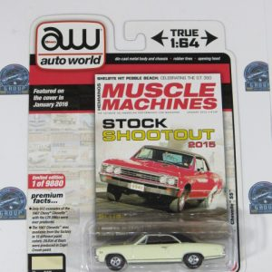 1967CHEVROLET CHEVELLE SS MUSCLE MACHINES AUTO WORLD 1:64