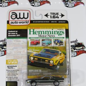1971 FORD MUSTANG BOSS 351 HEMMINGS AUTO WORLD 1:64