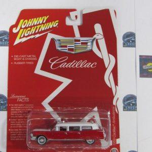 1959 CADILLAC AMBULANCE HOBBY EXCLUSIVE JOHNNY LIGHTNING 1:6G 4